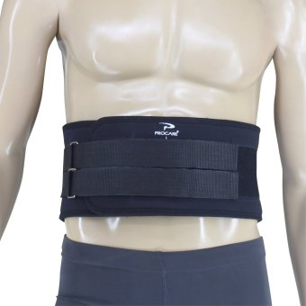 PROCARE PROTECT #7007 Weight Lifting Back Support Double-Belt Steel Buckle