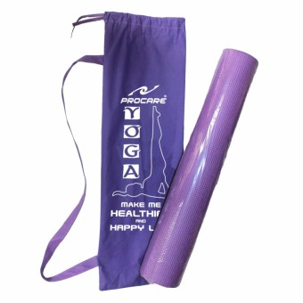 PROCARE #YMB-V Yoga Mat 5mm thick with Bag (Violet)