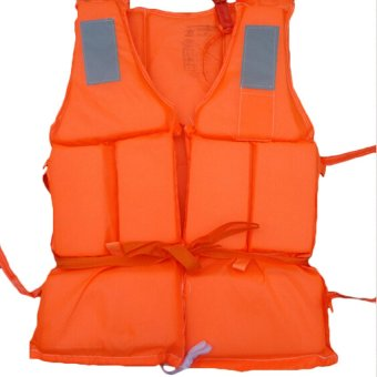 Professional Adult Working Rescue Life Jacket Foam Vest withWhistle