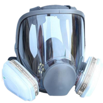 Protective Respirator Painting Spraying Gas Full Face Mask