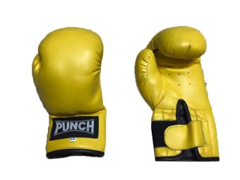 Punch Boxing Gloves 12 oz (Yellow) Price Philippines