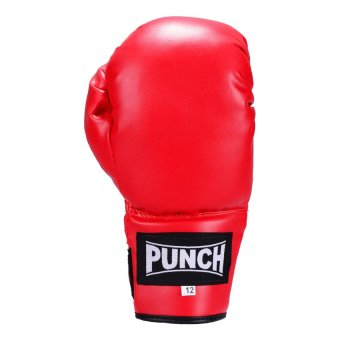Punch Boxing Gloves 12oz (Red) Price Philippines