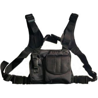 Radio Chest Harness bags Holster Vest Rig (Rescue Essentials) -intl