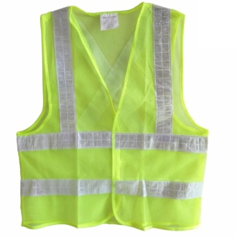 Reflective Safety Products Worker Vest,(Green)