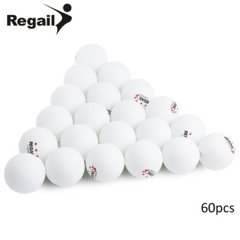 REGAIL 60 Counts 3-star Practice Table Tennis Ping Pong Ball for Advanced Training - intl Price Philippines