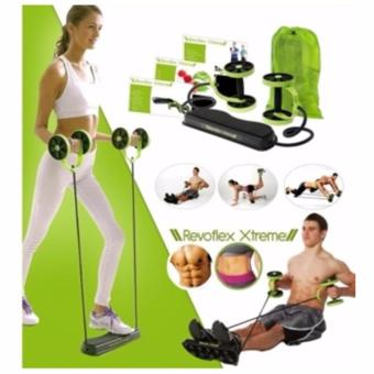Revoflex Xtreme Re-Strengthening Workout Gym Rope/ Wheel