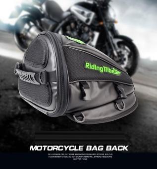 Riding tribe Leather Waterproof Saddle Bags Motorcycle Bag MotoTank Mochila Moto Pierna Bolsa Motocicleta Racing Oil Tank Bag -intl - 2