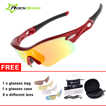 ROCKBROS Polarized Cycling MTB Driving Fishing Glasses Outdoor Sports Sunglasses