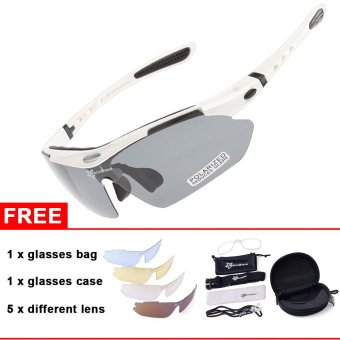 ROCKBROS Polarized Cycling MTB Driving Fishing Glasses OutdoorSports Sunglasses