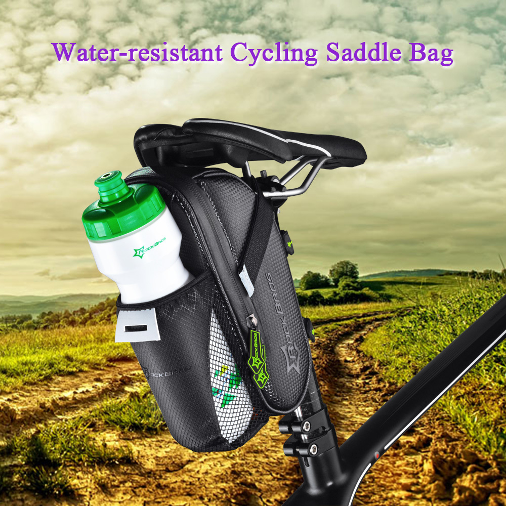 ... ROCKBROS Water-resistant Cycling Bicycle MTB Road Folding Bike Cycle Rear Bag Pack Water Bottle ...