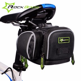RockBros Waterproof Mountain Road Bicycle Bike Bag Bycicle Bag Cycling Rear Seat Seatpost Saddle Bag Accesorios Bicicleta 3 Colors