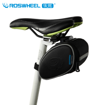 Roswheel Mountain Road Bike Bag Bicycle Bag 1.2L Quick Install Cycling Rear Seat Saddle Bag Bycicle Accessories Bolso Bicicleta - Intl