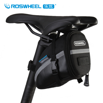 Roswheel Quick Install Cycling Back Seat Saddle Bag MTB Road Bike Bag