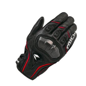 RS-TAICHI RST390 Hot Selling Cool Motorcycle Gloves black with Red- Intl