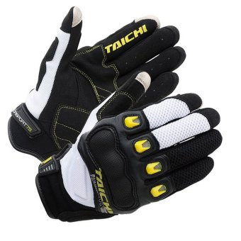 RS-TAICHI RST412 Winter Warm Waterproof Windproof Protective Gloves Black/White - Intl