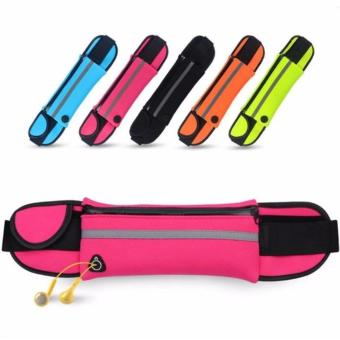 Running Waist Belt Sport Runner Zipper Fanny Pack Belly Bag FitnessPouch