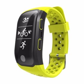 S908 GPS Sport Smart Band IP68 professional waterproof Heart rate Auto LAP Bluetooth Nordic 4.0 - intl - 3