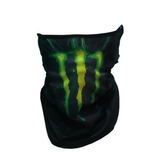 Sec 00636 Dual Purpose Full Face Mask (GREEN MONSTER) - 2