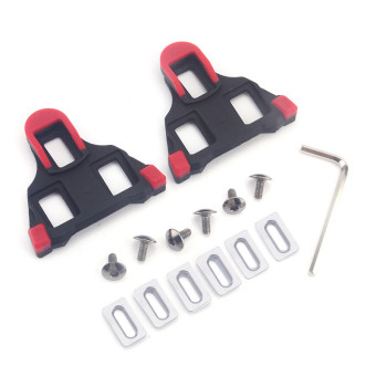 Self-locking Outdoor Bicycle Cycling Clipless Pedals Cleats Road SM-SH11 SPD-SL(Red) (Intl) - picture 2