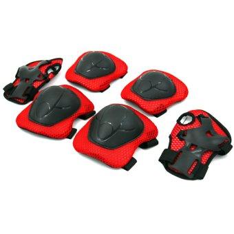 Set of 6 Kiddie Sports Safety Pad (red/black)