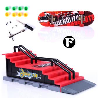 Skate Park Ramp Parts for Tech Deck Fingerboard Finger Board F - 2
