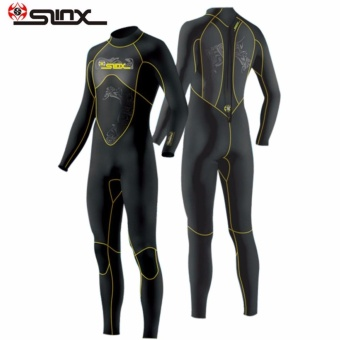 Slinx Scuba One Piece Diving Wetsuit 3mm Suits for Men Neoprene Swimming Surfing Wet Suit Swimsuit Equipment Jumpsuit Full Bodysuit - intl