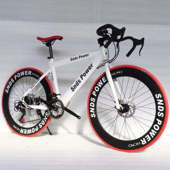 "SNDS POWER 26"" Disc Brake Mountain Bike (White)"