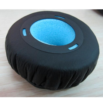 Soft PU Foam Headphone Ear Pads for Sony MDR-XB300 Black - picture 2