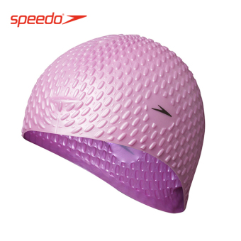 Speedo silicone men and women adult with long hair swimming cap