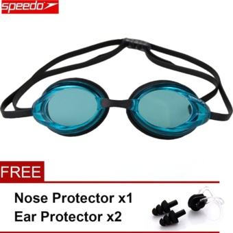 Speedo Swimming Goggles Waterproof Anti Fog Anti UV HD Lens SoftFramework Swim Glasses - intl