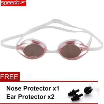 Speedo Waterproof Anti-fog Eye swimming goggles Swim Glasses PCLens Silicone Strap - intl Price Philippines