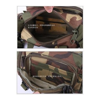 Sport Duffels Bags Camouflage Multi-functional 3P Magic Handbag Military Casual Sports Tactical Sling Bag Waist Bag with Many Pockets - intl - 3