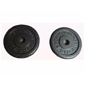 Sports Authority 10lbs Dumbell Plates (Set of 2)