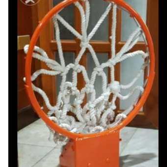 Sports In Style Basketball Hoops Heavy Duty Ring 18 Inch Standard - 3