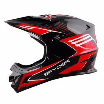 Spyder Downhill Helmet Sigma II G 362 (Black/Red)-Medium - 4