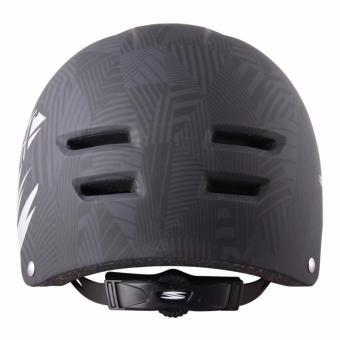 Spyder Urban Cycling Helmet Grind 351m (Matt Black/Silver) - Medium - 3