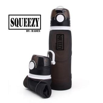 SQUEEZY Collapsible Silicone Water Bottle (750ml)