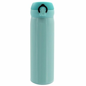 Stainless Steel Vacuum Flask Insulated Hot and Cold Bottle (MintGreen)
