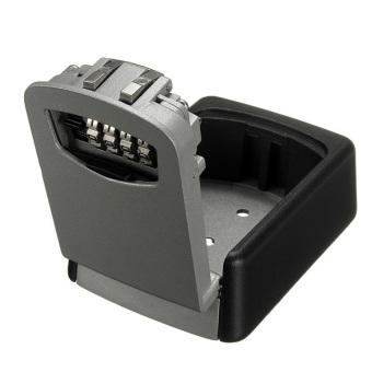 STEEL WALL MOUNT KEY BOX COMBINATION LOCK SAFE STORAGE KEY OUTSIDE SECURITY - 3