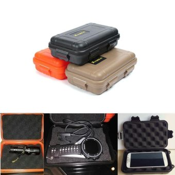 Storage Trunk waterproof box Airtight seal case outdoor camp fishbushcraft survive container carry travel kit EDC gear kayak - intl Price Philippines