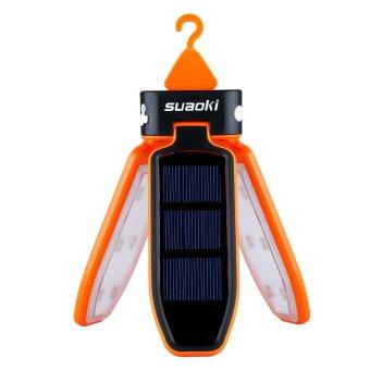 Suaoki solar panel foldable LED lantern (Orange) - 2