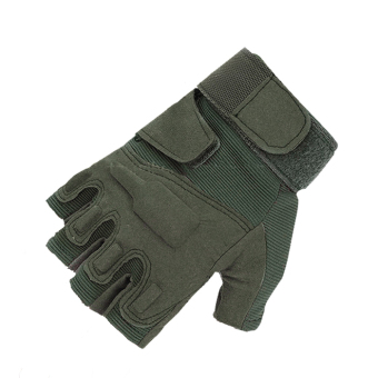 Supercart Cycling Gloves (Green) (Intl)