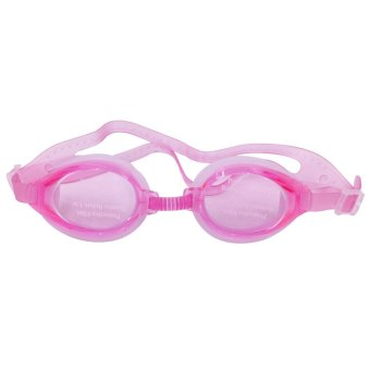 Swimming Goggles with Anti-fog Anti-UV Silicone (Pink)