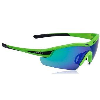 Swisseye Novena Sports Sunglasses (Neon Green)