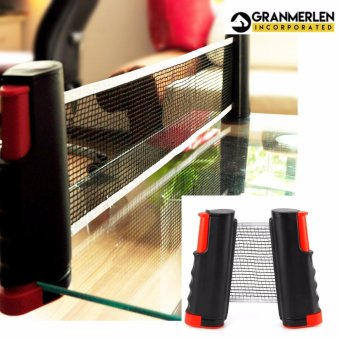 Table Tennis Net Rack Replacement Ping Pong Net (Black)