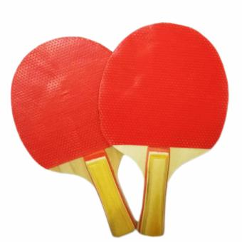 Table Tennis Sports Racket 2027 with Post, Net and 3 Table TennisBalls ( CTN#3 ) - 2