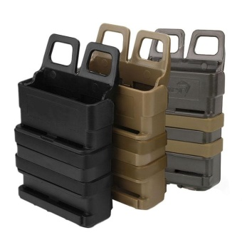 Tactical Fast Mag Attach Belt Magazine Pouch 5.56 Molle Strike Holster - intl