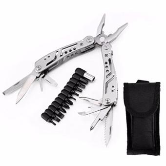 Tactical Pocket Multi Tool Folding Knife Utility Pliers OutdoorAdventure