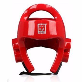 Taekwondo Boxing Karate Kickboxing Headgear Guard ProtectionTraining Protector (XL)