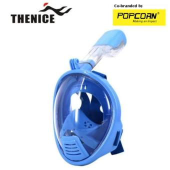Thenice K1 Full-Face Easybreath Children Snorkeling Mask With Camera Holder Size:XS